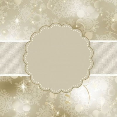 Free vector Vector background  beautiful snowflake background 02 vector