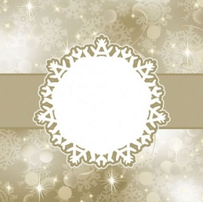 Free vector Vector background  beautiful snowflake background 04 vector