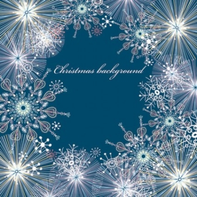 Free vector Vector background  beautiful snowflake pattern background 05 vector