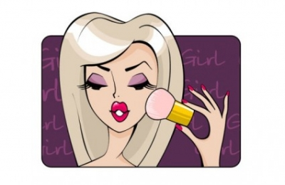 Free vector Vector cartoon  beauty cartoon illustrator 03 vector