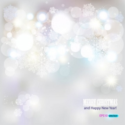 Free vector Vector background  behind the snowflake background 01 vector
