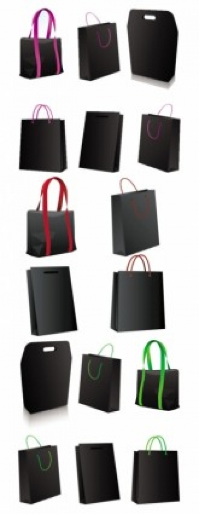 Free vector Vector misc  black bag vector