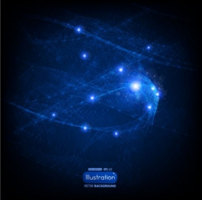 Free vector Vector abstract  blue abstract background 04 vector