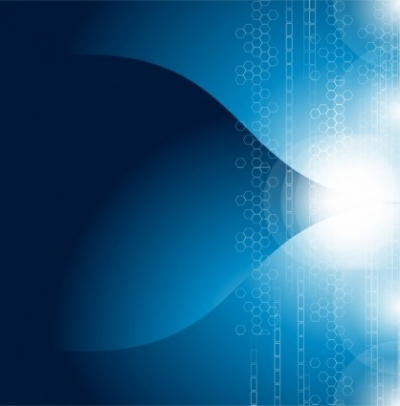 Free vector Vector abstract  Blue abstract background