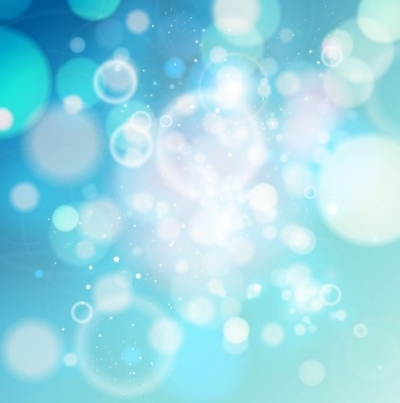 Free vector Vector abstract  Blue Bokeh Abstract light Background Vector Graphic