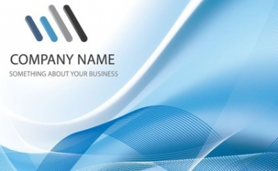 Free vector Vector background  Blue Business Background