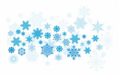 Free vector Vector background  Blue christmas background