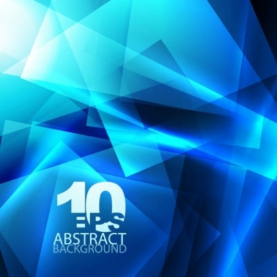 Free vector Vector background  blue dynamic technology background 02 vector