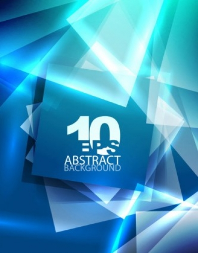 Free vector Vector background  blue dynamic technology background 04 vector