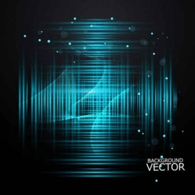 Free vector Vector background  Blue Lines abstract background