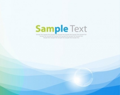 Free vector Vector background  Blue Smooth Wave Vector Background