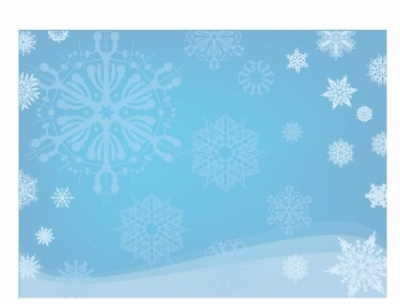 Free vector Vector misc  Blue Snowflake Background
