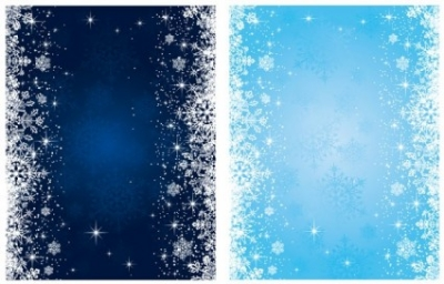 Free vector Vector background  blue snowflake background vector
