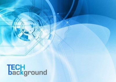 Free vector Vector background  blue trend of dynamic vector background