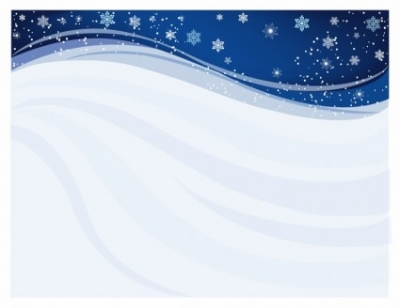 Free vector Vector background  Blue Winter Background