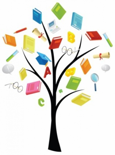 Free vector Vector misc  Book Knowledge tree