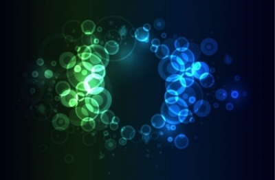 Free vector Vector abstract  Bright Colorful Abstract Bokeh Circles Background