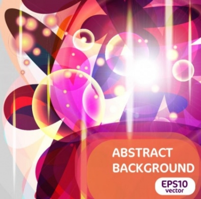 Free vector Vector background  bright trend halo background 03 vector