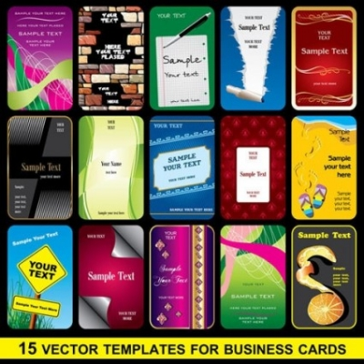 Free vector Vector misc  brilliant business card template 02 vector