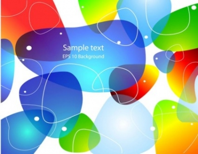 Free vector Vector background  brilliant halo background 01 vector