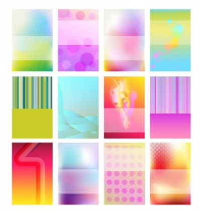 Free vector Vector background  brilliant halo card background 01 vector