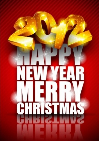 Free vector Vector background  brilliant new year background 02 vector