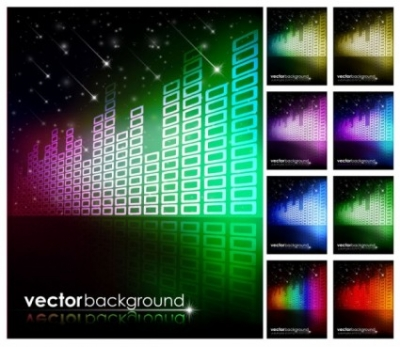 Free vector Vector background  brilliant starlight background 01 vector