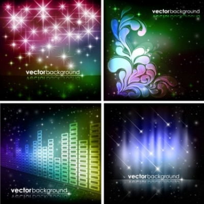 Free vector Vector background  brilliant starlight background 06 vector
