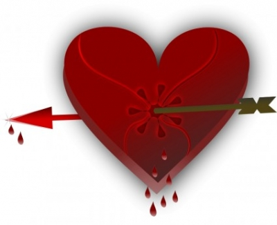 Free vector Vector clip art  Broken Heart 3
