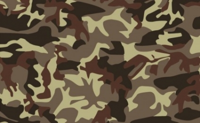 Free vector Vector background  Brown Camouflage Background