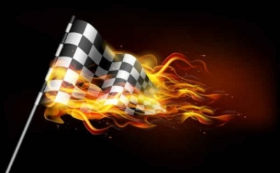Free vector Vector background  Burning flame banner background