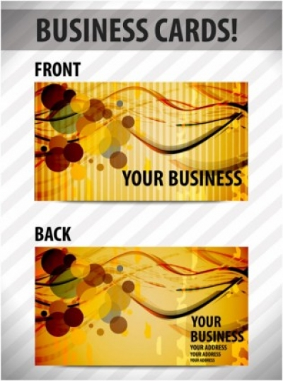 Free vector Vector misc  business card template 01 vector