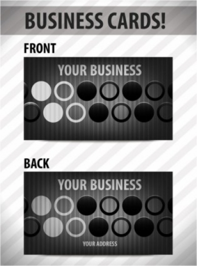 Free vector Vector misc  business card template 02 vector