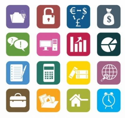 Free vector Vector icon  Business Color Icons