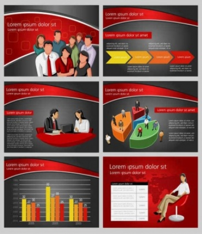 Free vector Vector background  Business financial Background