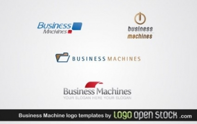 Free vector Vector misc  Business Machine Logo Template