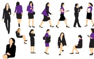 Free vector Vector misc  Business Woman Vectors