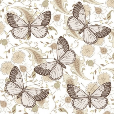 Free vector Vector floral  butterfly floral 06 vector