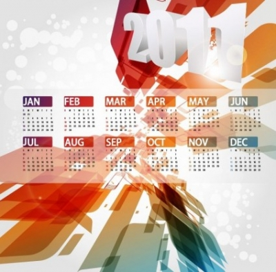Free vector Vector misc  Calendar Design 2011 Vector Illustration