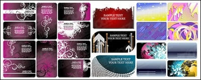 Free vector Vector background  card template vector background material
