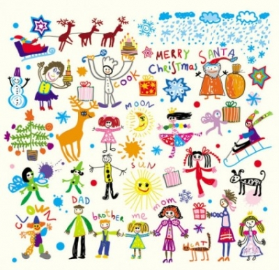 Free vector Vector cartoon  cartoon children39s illustrator 03 vector