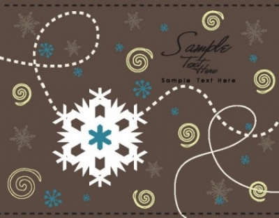 Free vector Vector background  cartoon christmas background 04 vector
