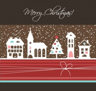 Free vector Vector background  cartoon christmas background 05 vector