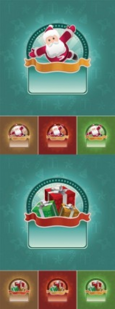 Free vector Vector background  cartoon christmas background vector