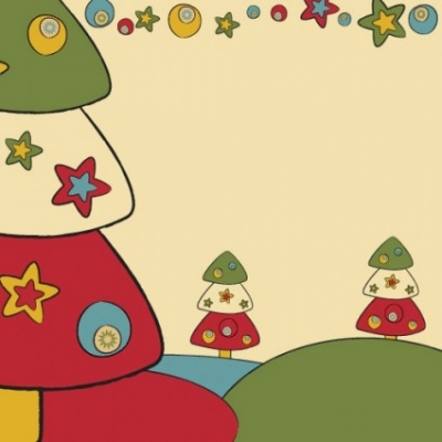 Free vector Vector background  cartoon christmas design background 03 vector