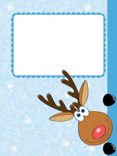 Free vector Vector cartoon  cartoon christmas elk 04 vector