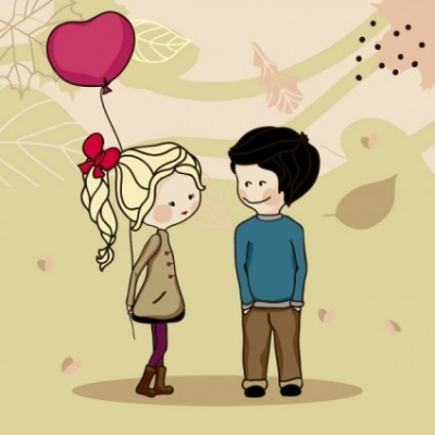 Free vector Vector cartoon  cartoon couple 04 vector