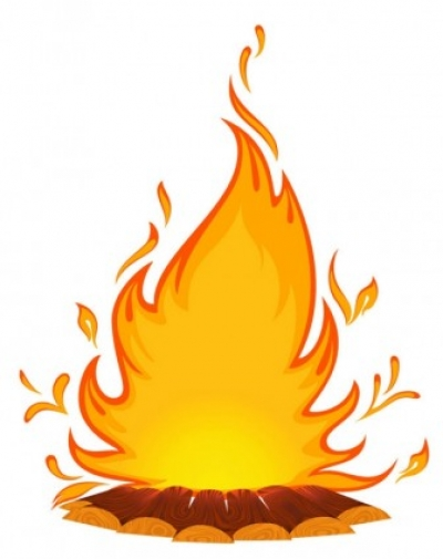 Free vector Vector cartoon  cartoon flame 01 vector