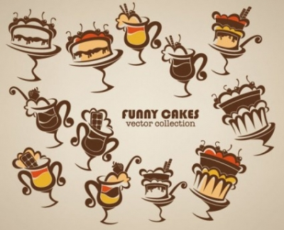 Free vector Vector cartoon  cartoon handpainted food 02 vector