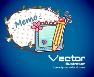 Free vector Vector background  cartoon label background 01 vector